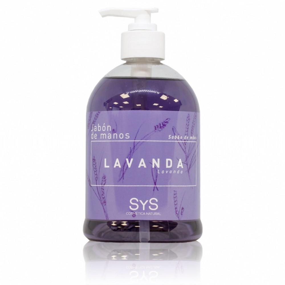 Jabón de manos de Lavanda - Laboratorios SyS - tienda vegana online