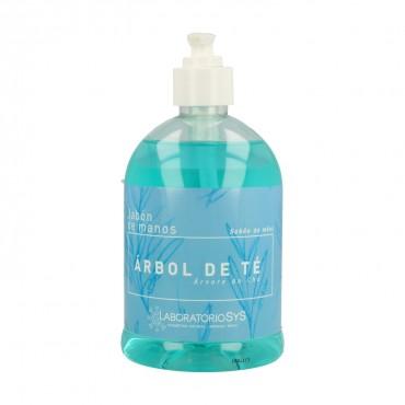 Jabón de manos de Árbol de Té - Laboratorios SyS - tienda vegana online