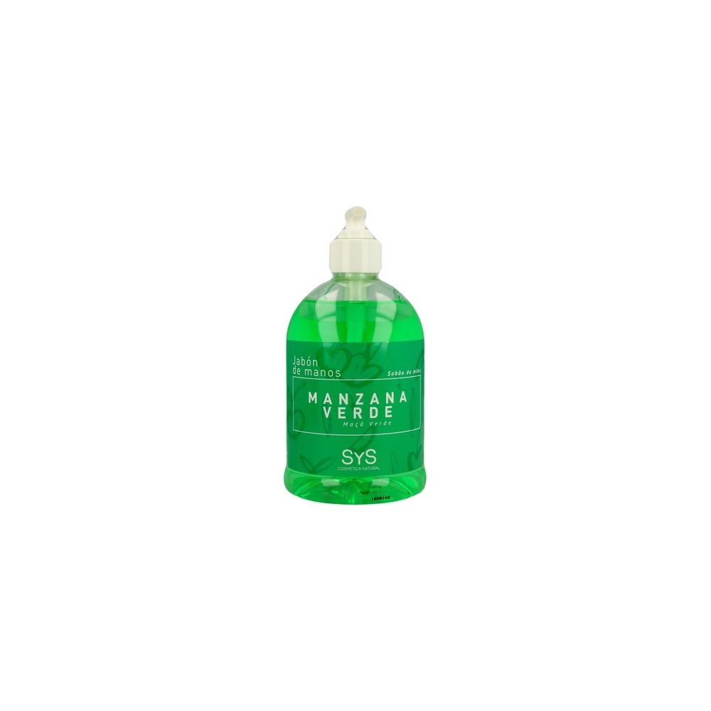 Jabón de manos de Manzana Verde - Laboratorios SyS - tienda vegana online