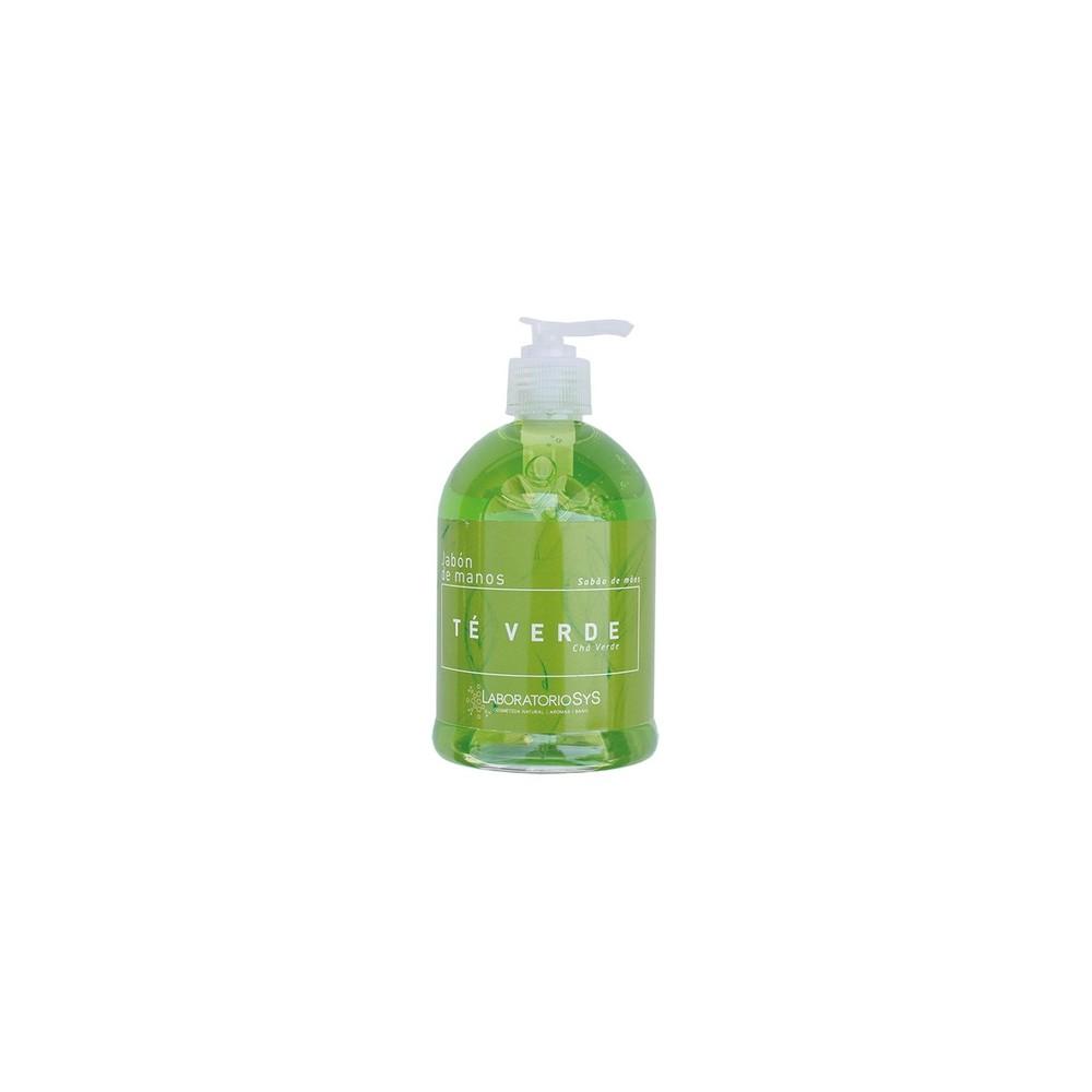 Jabón de manos de Té Verde - Laboratorios SyS - tienda vegana online