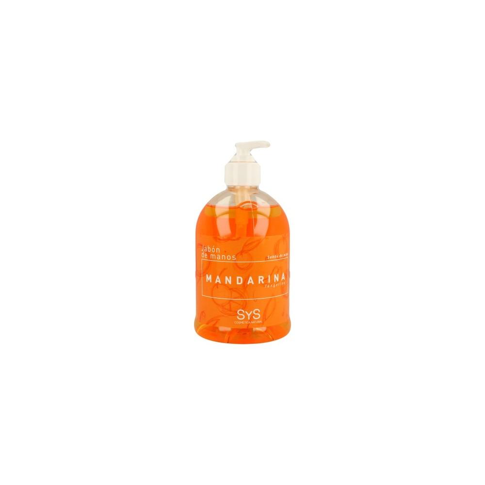 Jabón de manos de Mandarina - Laboratorios SyS - tienda vegana online