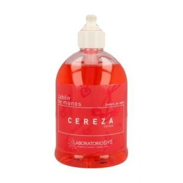 Jabón de manos de Cereza - Laboratorios SyS - tienda vegana online