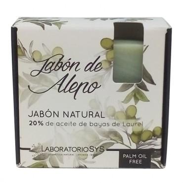 Jabón de Alepo 80 g. - Laboratorios SyS - tienda vegana online
