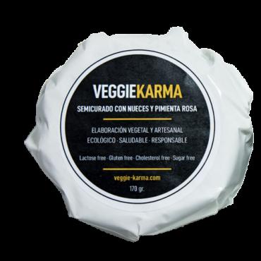 Queso  semicurado veggie Karma con nueces tienda vegana online