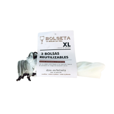 Bolsas Reutilizables 30x40 - Bolseta - tienda vegana online