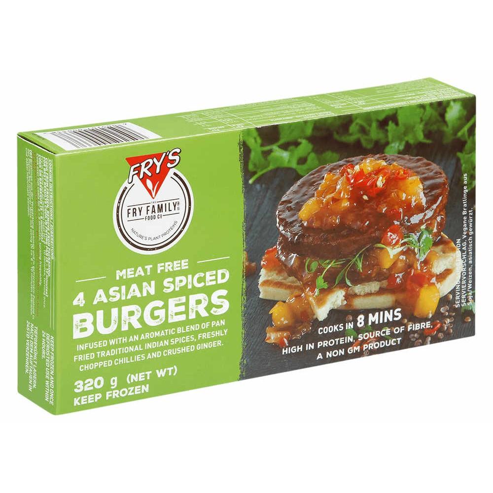 Hamburguesa Especiada Asiática - Fry´s -tienda vegana online