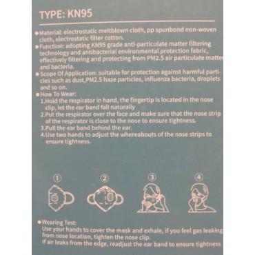 Mascarillas protección KN95 FFP2 - Pack de 2 - tienda vegana online