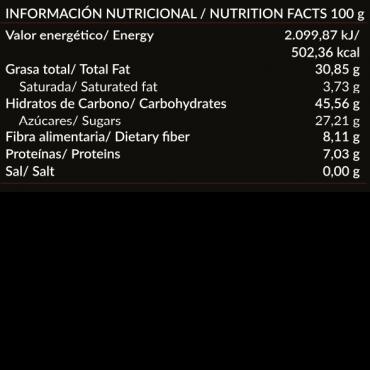 Crema de Cacao y Avellanas - Ambrosía - tienda vegana online