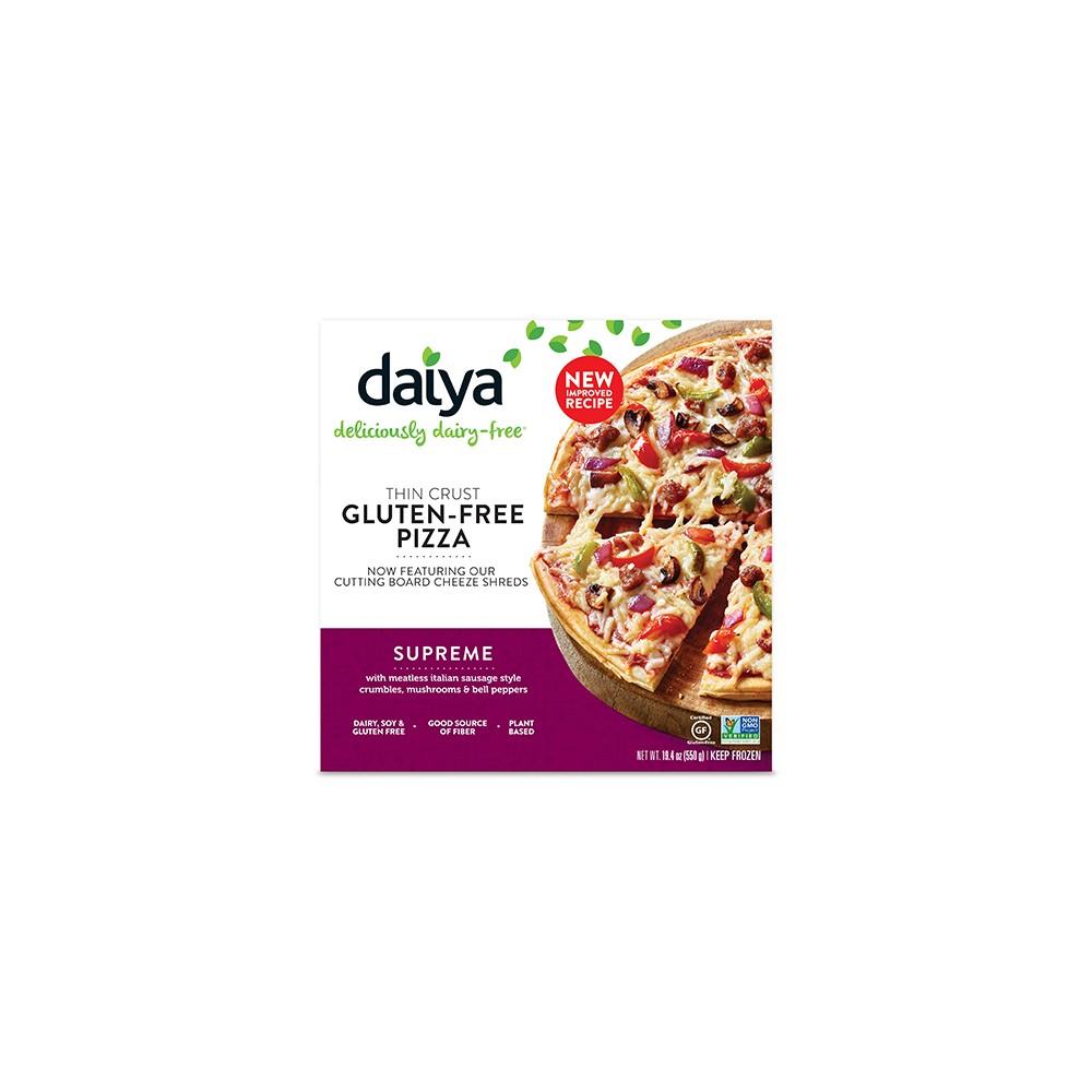 Pizza Suprema Sin Gluten - Daiya - tienda vegana online
