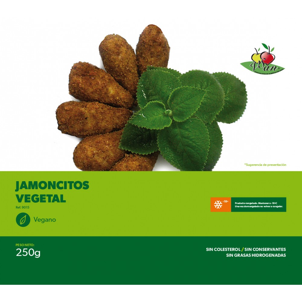 Jamoncitos de Pollo Veganos - Vegesan - tienda vegana online