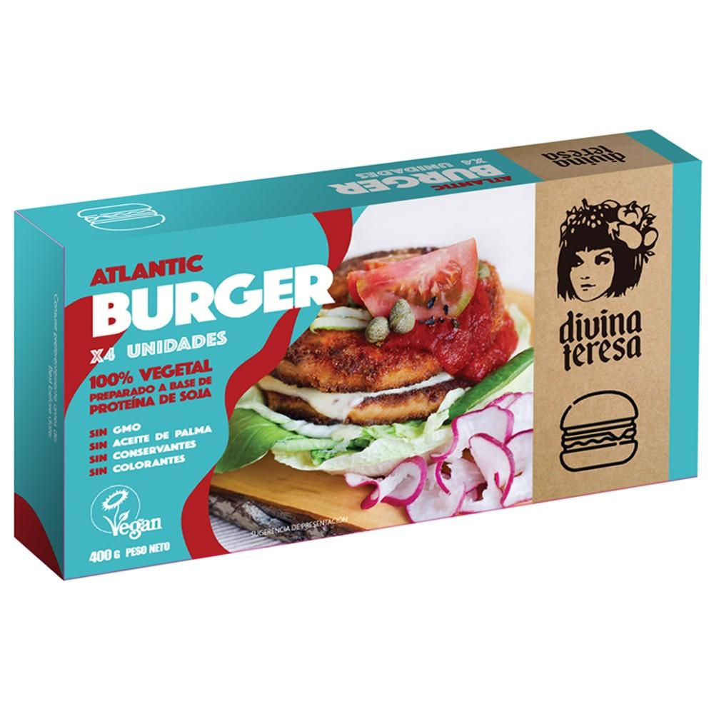 Atlantic Burger - Divina Teresa - tienda vegana online