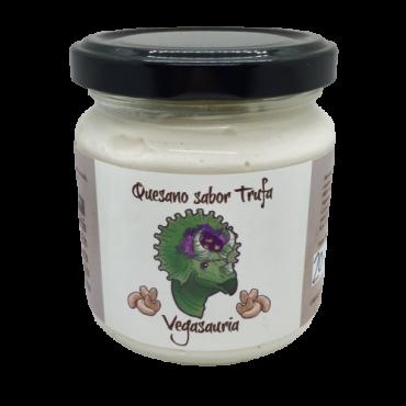 Quesano sabor Trufa - Vegasauria - tienda vegana online