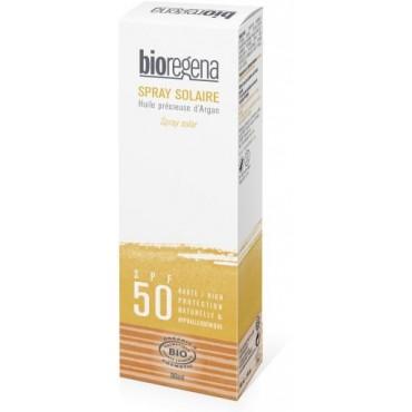 Spray Protección Solar SPF 50 - Bioregena - tienda vegana online