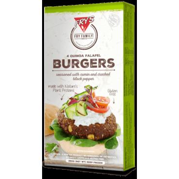 Hamburguesas de quinoa y falafel sin gluten - Fry's - tienda vegana online