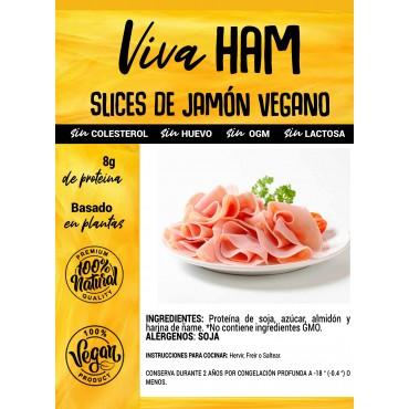 Jamón Vegano en lonchas - Viva Planta - tienda vegana online