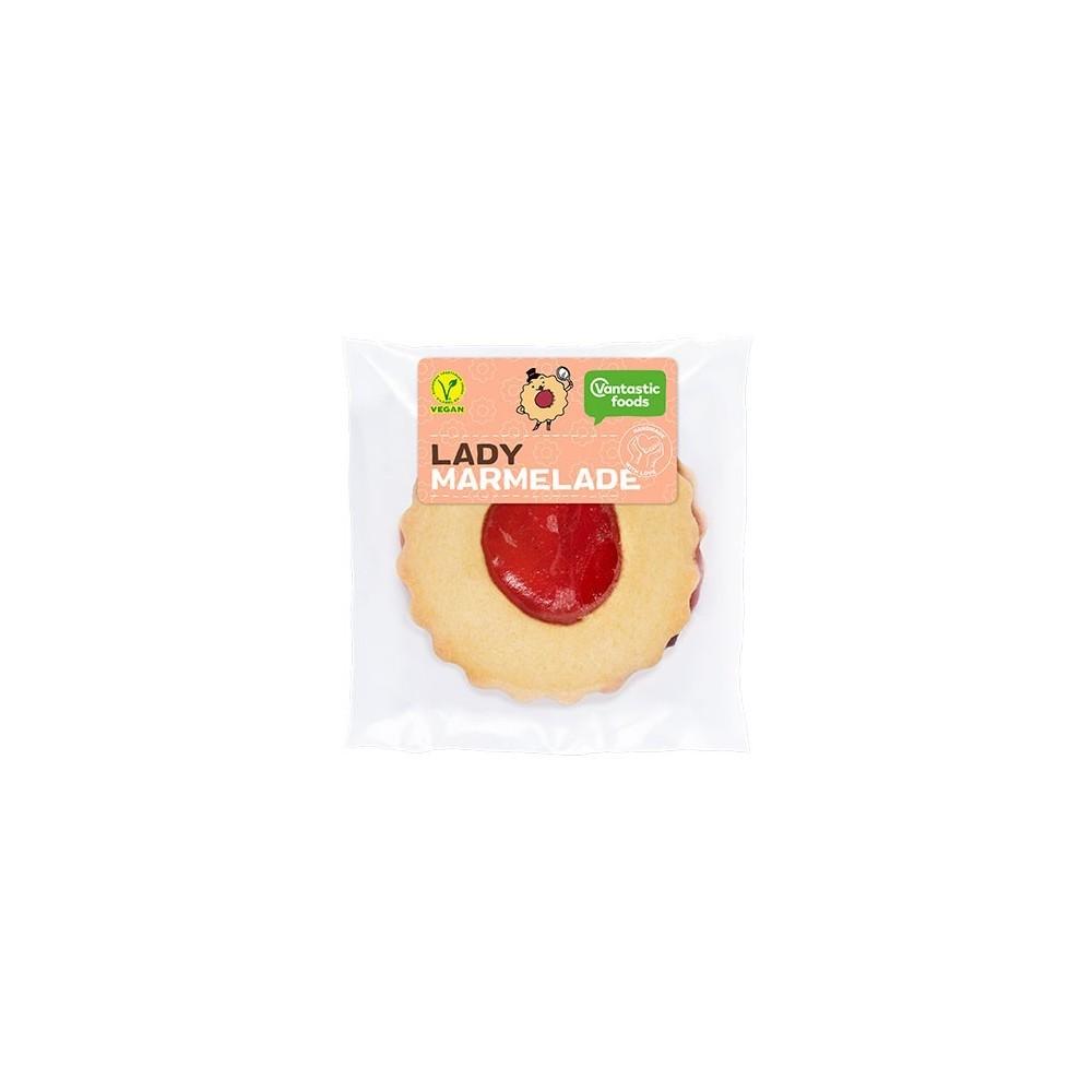 Pastelito Lady Mermelada - vantastic Foods - tienda vegana online