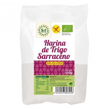 Harina de Trigo Sarraceno Sin Gluten - Sol Natural