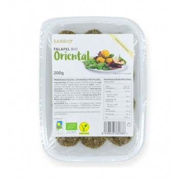 Bio Falafel Oriental - Sabbio - tienda vegana online
