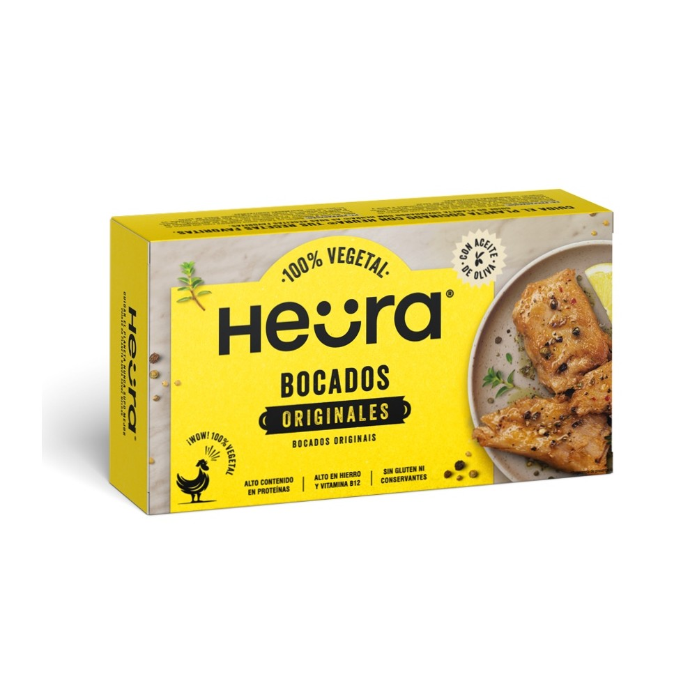 Bocados Originales 180 gramos - Heura -  tienda vegana online