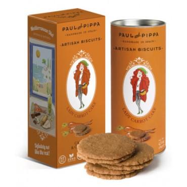 Galletas de Zanahoria - Paul & Pippa - tienda vegana online