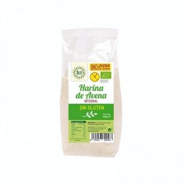 Harina de Avena Bio Sin Gluten - Sol Natural - tienda vegana online
