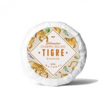 Champú sólido tigre - fuerza - silvestre - apto curly