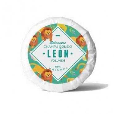 champú solido volumen león - silvestre - tienda online - apto curly