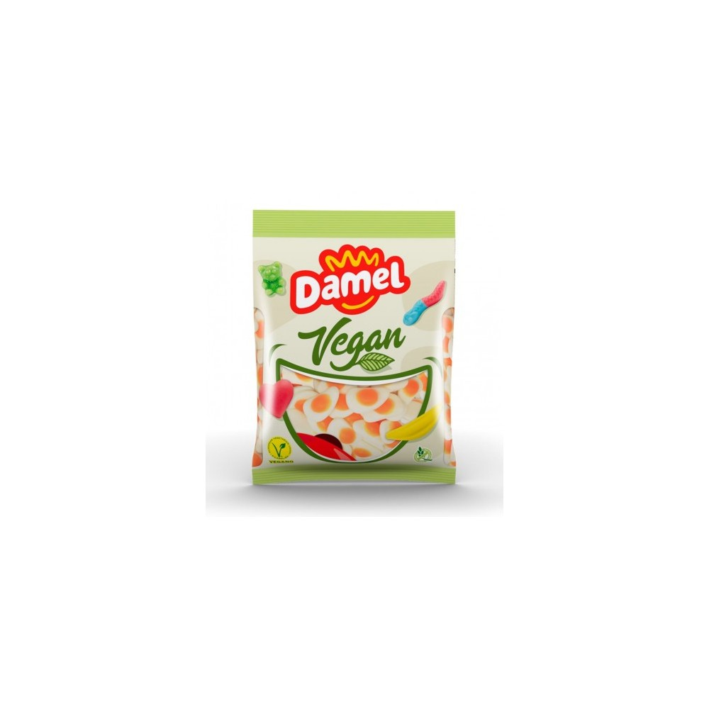 Golosina Vegana Huevos Fritos 1kg. - Damel - tienda vegana online