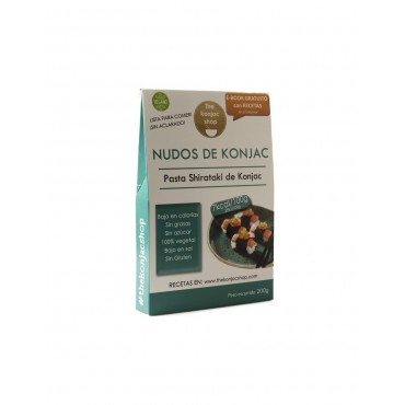 Nudos de Konjac - The Konjac Shop