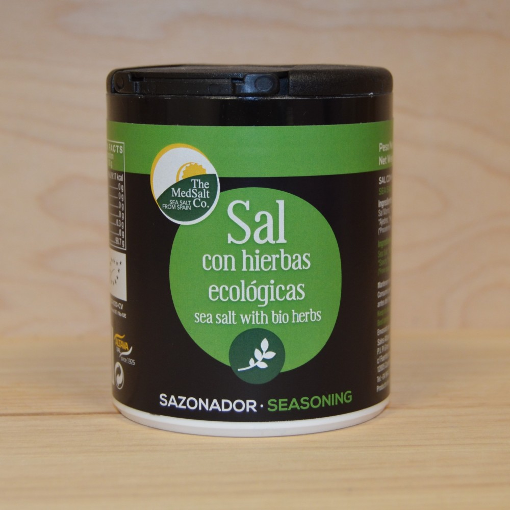 Sal con Hierbas Ecológicas - MedSalt - tienda vegana online