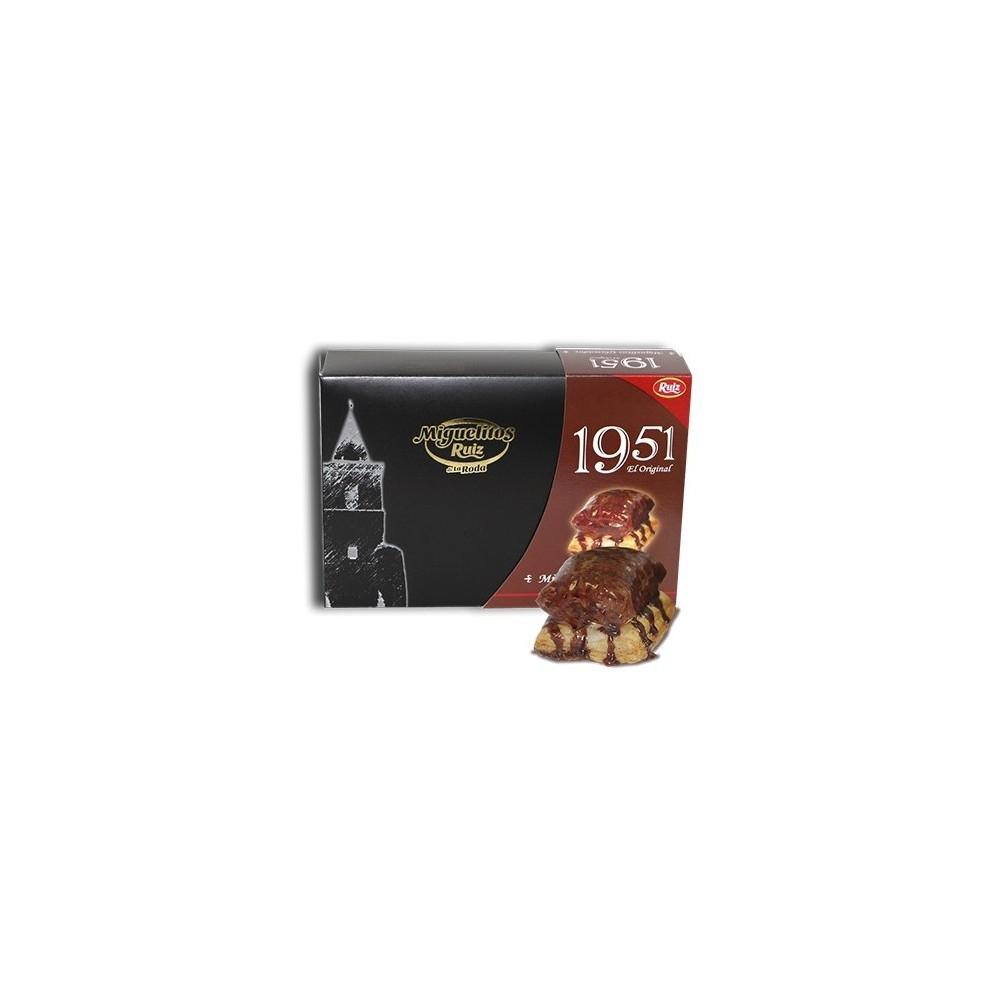 Miguelitos 1951 Chocolate Glaseado - Miguelitos Ruiz - tienda vegana online