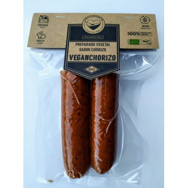 Chorizo vegano - La Cuchara Verde