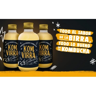 Kombucha KomVirra Komvida - Tienda vegana online