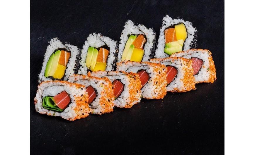"Receta sushi vegano, makis veganos insuperables con ""no atún"""
