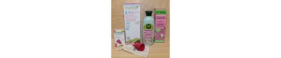 Artículos de higiene femenina 100% naturales | IdeyaVerde