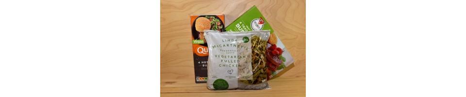 Proteínas y carnes vegetales
